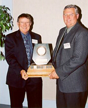 2001 Bruce Donald - with the Jade Award