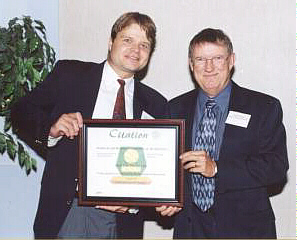 2001 Christopher Naychuk - Citation Excellence in Sand and Gravel reclamation