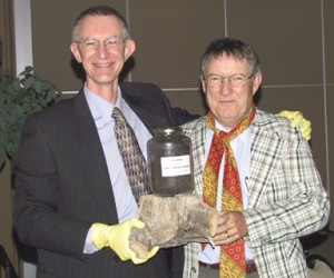 2005 Bob Hart with John Errington