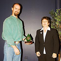 2007 Keeper Trophy Greg Sword