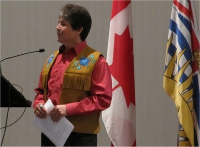 Chief Clarence Louie, Westbank First Nation - Plenary session